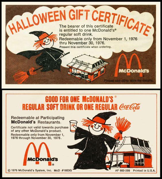 vintage mcdonalds stuff - mike matei blog - mike matei blog